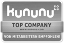 Kununu Top-Company Siegel