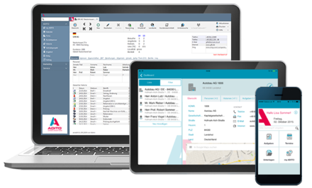 Die flexible CRM Software: ADITO4