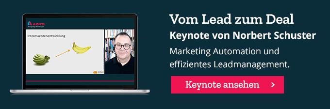 Keynote: Vom Lead zum Deal