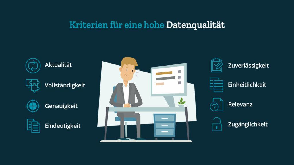 Datenqualität Kriterien